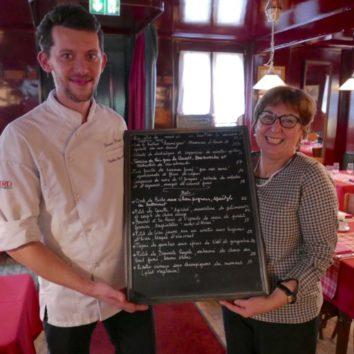 """Restaurant La Vignette à la """"une"""" de la presse"""