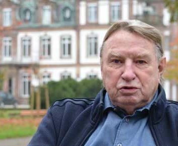Robert Grossmann fait don des lettres de Mélanie de Pourtalès à la Ville de Strasbourg