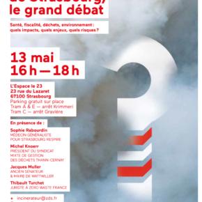 Incinérateur de Strasbourg : Le grand débat