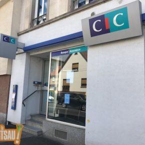 Le CIC ferme son agence de la route de la Wantzenau