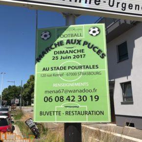 Marché aux puces 2017 de l'ASL Robertsau football