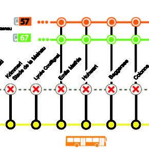 Travaux d'entretien du Tram du 26 au 30 juin