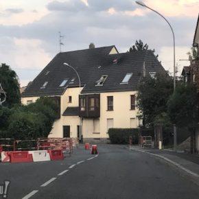 Travaux rue Mélanie