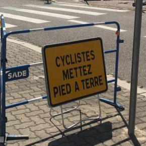 Travaux : comme toujours à Strasbourg, les vélos sont les dindons de la farce !