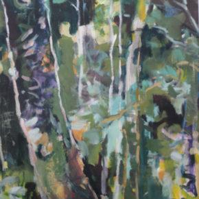 Exposition forêts intérieures Roland Jacob au CINE de Bussierre