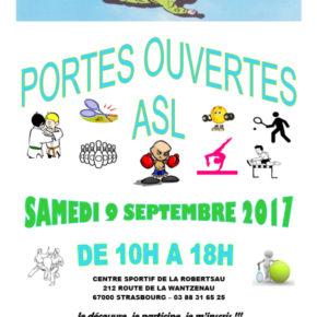 Portes ouvertes à l'ASL Robertsau