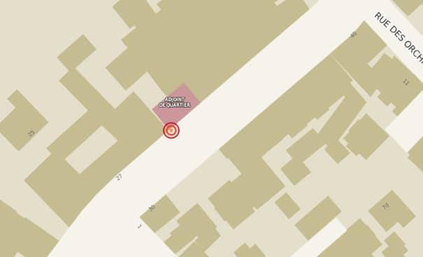 Pour la Ville de Strasbourg, l'adjointe de quartier est toujours au 33 rue Boecklin