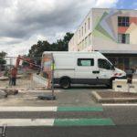Travaux rue de l'Ill & route de la Wantzenau (suite)