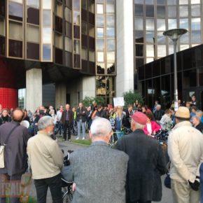 Plus de 250 personnes contre la fermeture des berges !