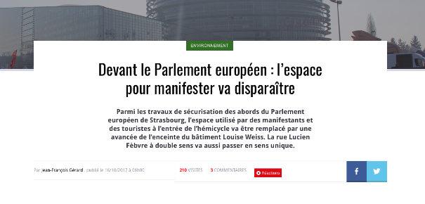 Parlement européen : éloignez ce peuple que je ne saurais voir... !