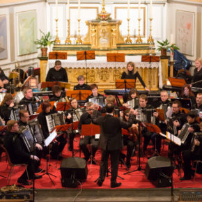 Concert d'accordéon de l'ensemble de l'Ill pour Noël
