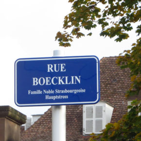 Quiz : la rue Boecklin est-elle « bicycle friendly » ?