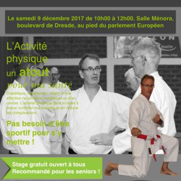 Karaté : un stage sport santé pour les séniors