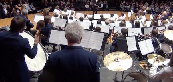 Salle comble pour l'Harmonie Cæcilia