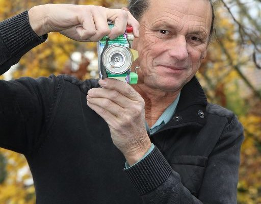 Bernard Irrmann signé Nature au marché de la Robertsau