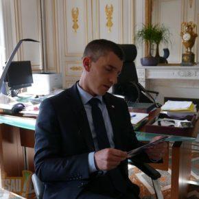 24h avec le député Bruno Studer, entre Strasbourg et Paris