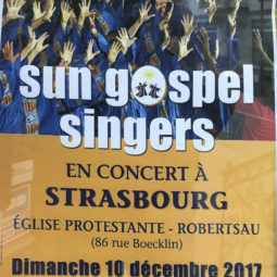 Les Sun Gospel Singers en concert à la Robertsau