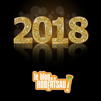 Pour 2018, on vous souhaite 365 jours de joie et bonheur !