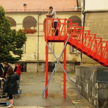 Balade artistique à la Robertsau : une première d'Apollonia et du Lieu d'Europe