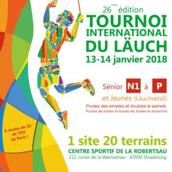 Le tournoi international du Läuch : 26e édition