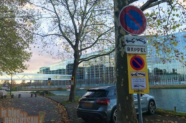 Le respect du droit est en marche : Emmanuel Macron devrait venir plus souvent à Strasbourg.