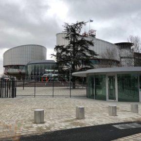 Cour Européenne des Droits de l'Homme : les travaux du parvis sont finis