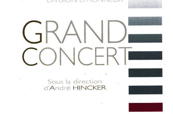 Grand concert de l'Harmonie Caecilia le 5 novembre au PMC