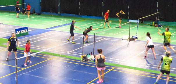 864 matchs de badminton en deux jours !