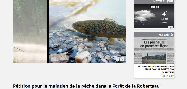 Réserve naturelle de la Robertsau : Les pêcheurs pétitionnent
