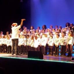 Concert des Gospel Kids à la Robertsau