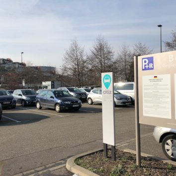 Combien de places du parking-relais Boecklin réservées pour le consulat de Turquie ?