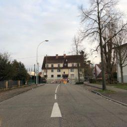 Travaux rue Hechner