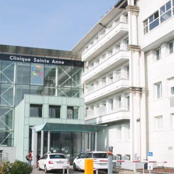 Clinique Ste Anne : des travaux à la maternité