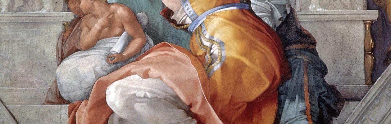 """Conférence de Suzanne Braun """"Les peintures de la chapelle Sixtine"""""""