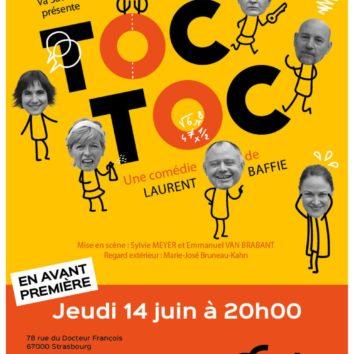 TOC TOC en avant-première à l'Escale le 14 juin