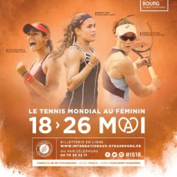 32e édition des Internationaux de Tennis de Strasbourg au Wacken