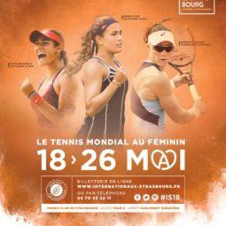32e édition des Internationaux de Tennis de Strasbourg au Wacken