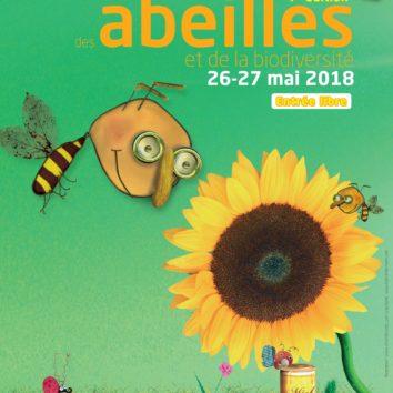 Festival des abeilles et de la biodiversité les 26 et 27 mai 2018 au CINE de Bussiere
