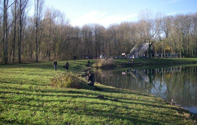 Balade avec les pêcheurs au cœur de la forêt de la Robertsau