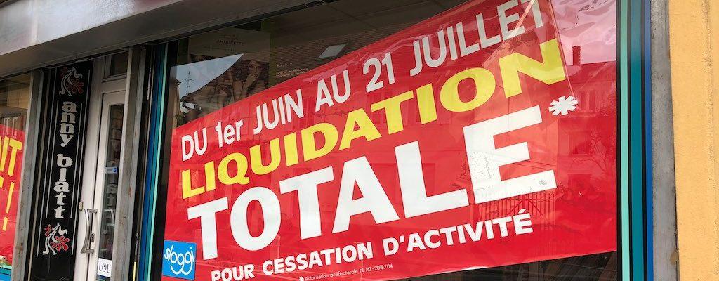 Chryslaine va fermer. Liquidation totale jusqu'à fin juillet.