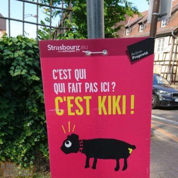 C'est Ki, Ki Kontinue à faire KaKa malgré les panneaux, Kiki ?