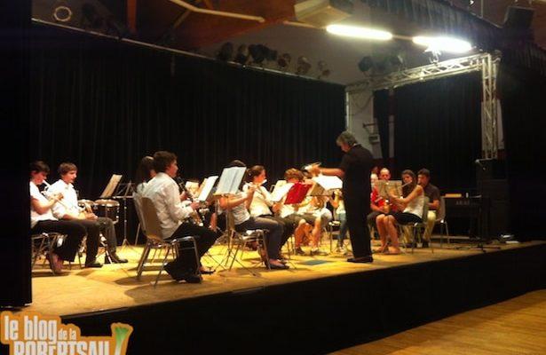 Concert de l'école de musique de l'harmonie Cæcilia