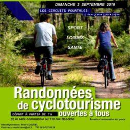 Vélo Touring Club de la Robertsau : randonnées le 2 septembre 2018