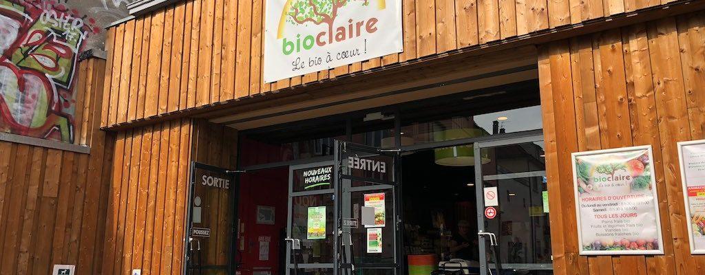 Bio Claire – bien installé à la Robertsau