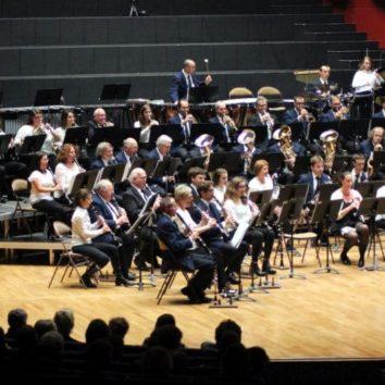 Grand concert de l'Harmonie Cæcilia 1880 de la Robertsau