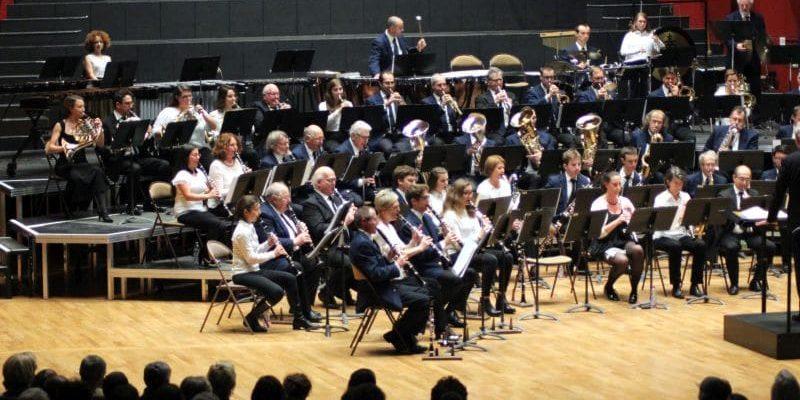 Grand concert de l'Harmonie de Bischheim et de celle de la Robertsau