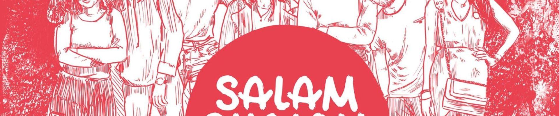 """""""Salam, Shalom, Salut"""" pose ses valises à Strasbourg le 29 novembre 2018 à partir de 18h."""