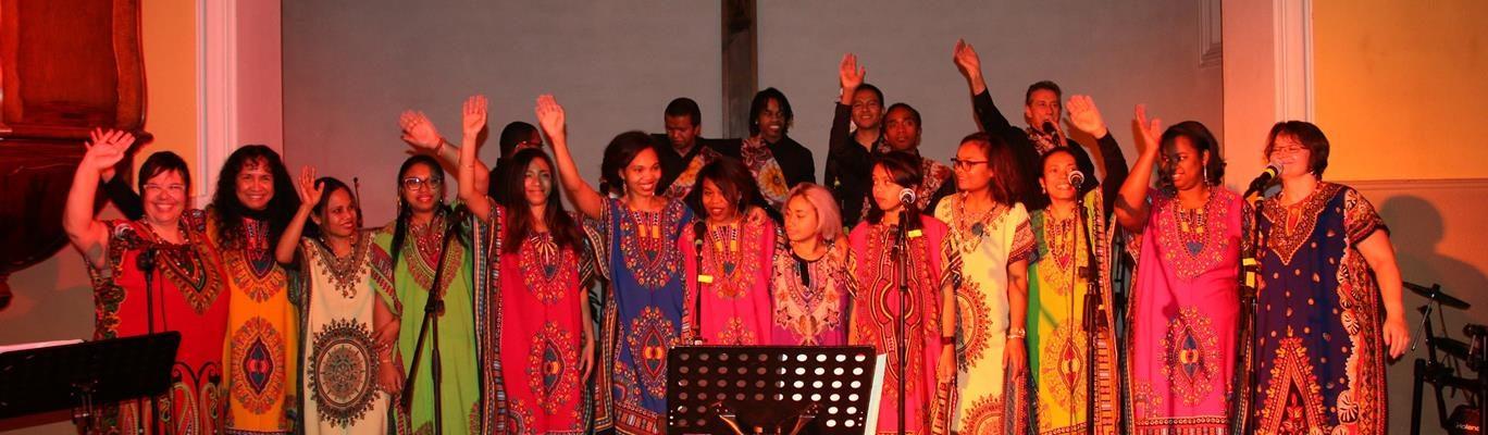 Concert des Gasy Gospel Singers à l'église Ste Bernadette
