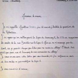 Bus : Apolline écrit au maire de Strasbourg