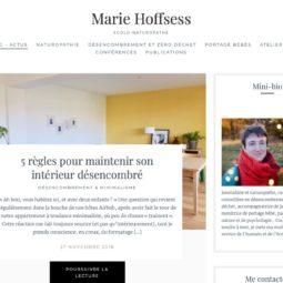 Un nouveau site pour Marie Hoffsess